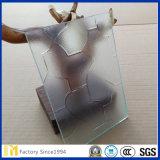 Vidro de diamante de vidro modelado de 2mm a 6mm para janelas e portas de chuveiro