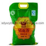 avec le GV sac reconnu d'empaquetage en plastique de riz avec le traitement