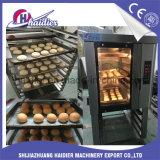 Torta de pan horneado Deck pizza horno de convección a gas con vapor