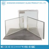 Bâtiment de sécurité clair à plat en verre coloré décoratifs stratifiés trempé