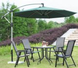 Paraguas de Cantiliver del paraguas del patio con el pabellón del poliester de cuatro estilos