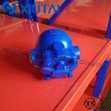 Válvula de vapor de flutuador de bola parafusada