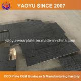 La plaque en acier a enduit du carbure de chrome