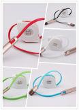 Intrekbare 2 in 1 Kabel van Unremovable USB voor iPhone (lccb-049)