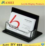 アクリルの名刺のホールダー、帯出登録者、名刺の箱(AMT-C047)