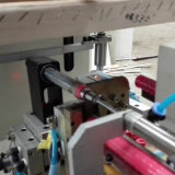 Máquina de impressão automática redonda da tela de Sizer