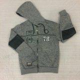 Boy Fleece combina roupa com PU na roupa infantil Sq-6310