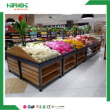 Verbrauchergrossmarkt-hölzerne Frucht-Standplatz-Zahnstange