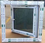 Guichet extérieur ouvert de PVC de lame simple