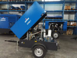 Tipo móvel compressor do parafuso de Copco 178cfm do atlas de ar Diesel