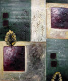 Peinture à l'huile abstraite 0127