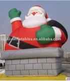 Aufblasbare Sankt für Weihnachten