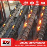 L'utilisation de mine de cuivre du Chili de 3 pouces a modifié la bille en acier