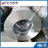 Lo zinco tuffato caldo ha galvanizzato la striscia d'acciaio del metallo stretto