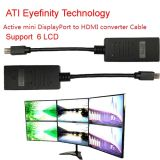 HDMI Cable Mini Dp에 HDMI Adapter Converter Cable Support Ati Eyefinity 6 LCD Support 6 LCD에 Ati Eyefinity Active Mini Displayport