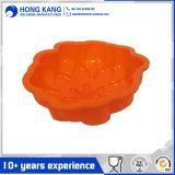 En forme de fleur de moule à gâteau en caoutchouc de silicone (RS21)