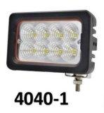 il quadrato del punto luminoso del lavoro di pollice LED di 2PCS 18W 3 illumina l'indicatore luminoso laterale 1, 000 indicatore luminoso dell'indicatore luminoso della jeep 12V del lavoro del quadrato di lumen 15 LED