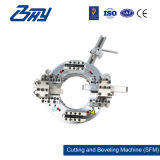 """2 """" - 6 """"를 위한 쪼개지는 프레임, 전기 관 절단 및 경사지는 기계 (60.3-168.3mm)"""