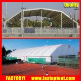 De veelhoekige Tent van de Markttent van de Tennisbaan van Sporten