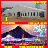Fête de mariage de nouvelle conception de l'événement tente de renom pour 60 personnes places pour la vente d'hôtes 2018