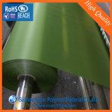 Artístico película rígida PVC verde para el árbol de navidad