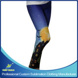 Impression en sublimation personnalisé Fashion Mesdames legging