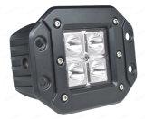 Zoll 10-30V 6000K CREE Auto-Teile des LED-Arbeits-Licht-12W 3 für LKWas