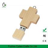 Ручка памяти клена Merkmak деревянная перекрестная к USB