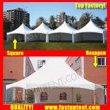 De nieuwe Tent van de Top van het Ontwerp Witte voor Catering 5X5m 5m X 5m 5 door de Gast van Seater van 5 5X5 5m 50 Mensen