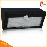 Lampada solare luminosa dell'indicatore luminoso solare del giardino del LED