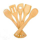 5 Кусок бамбука ложки посуду.