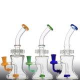 Pipa vidrio de alta calidad DAB plataforma petrolífera reciclador de tubos de vidrio del tubo de agua de cristal