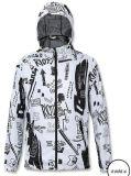 /Sur mesure Personnalisée de l'hiver coupe-vent sublimation/sublimé l'impression/imprimé Mesdames/Femmes vers le bas du vêtement