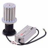 Estacionamento LED 90 watts de iluminação com lâmpadas de milho branco frio