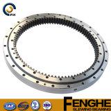 二重列の球形のタイプ回転ギヤベアリング、中国の専門家の製造者