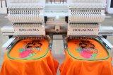 الصين جيّدة عادية سرعة 2 رأس حوسب تطريز آلة غطاء [ت-شيرت] فوطة حزام سير تطريز آلة