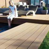 Faible maintenance WPC Flooring tablier composite résistant à l'eau