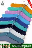 Madera de alta calidad colgador de la tienda de ropa para niños
