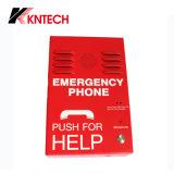 Горячий продавать Knzd-38 Kntech Красный Strong корпус аварийные телефоны для крепления на стене
