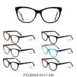 Klaar Goederen Geen Acetaat Eyewear van het Frame van de Manier MOQ Optische (FX180414)