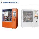 Collation et des boissons en self service cosmétiques vending machine pour la vente de DVD