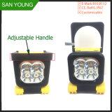 LED de mano de la luz de trabajo de 12W 4 pulgadas para camiones trabajando