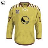 Abbigliamento Sportivo Sublimazione All'Ingrosso Bianco Hockey Personalizzato Modello Da Cucito