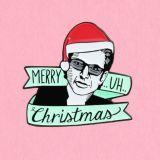 Vacaciones de metal esmaltado Prendedores logotipo personalizado para regalo de Navidad