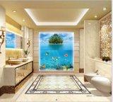 ヒスイの床及び壁が付いているシリーズによって艶をかけられる磁器のPolisedのタイル