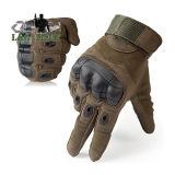 Guanti tattici dell'articolazione dura di gomma militare