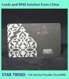 Scheda di plastica prestampata del PVC di formato della carta di credito per il commercio