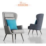 Design de alta contrapressão lobby de hotel Madeira Tecido Mobiliário Cadeira SOFA LAZER