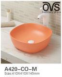 Quadratische bunte Badezimmer-Schrank-Bassin-Badezimmer-Eitelkeit