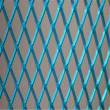 拡大された金属線の網によって拡大される版の網
